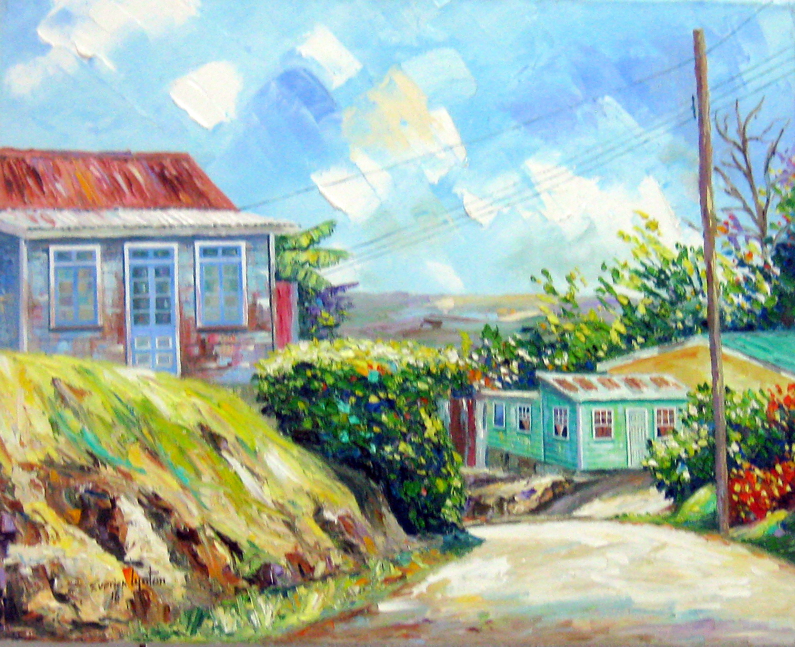 Clifton Hill St Thomas by Mr. Everick Lynton - Masterpiece Online