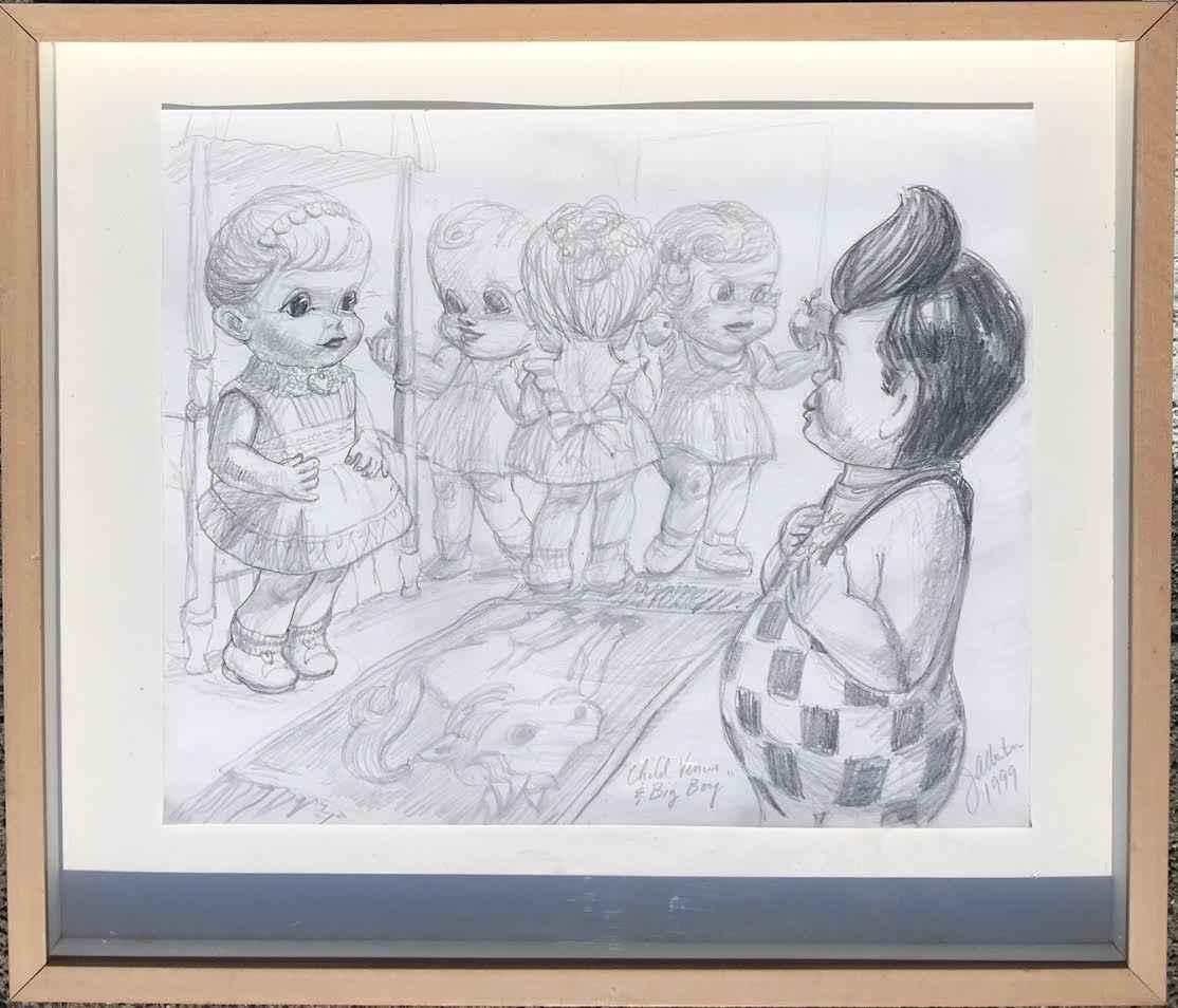 Jim Albertson - Child... by  Resale Gallery  - Masterpiece Online