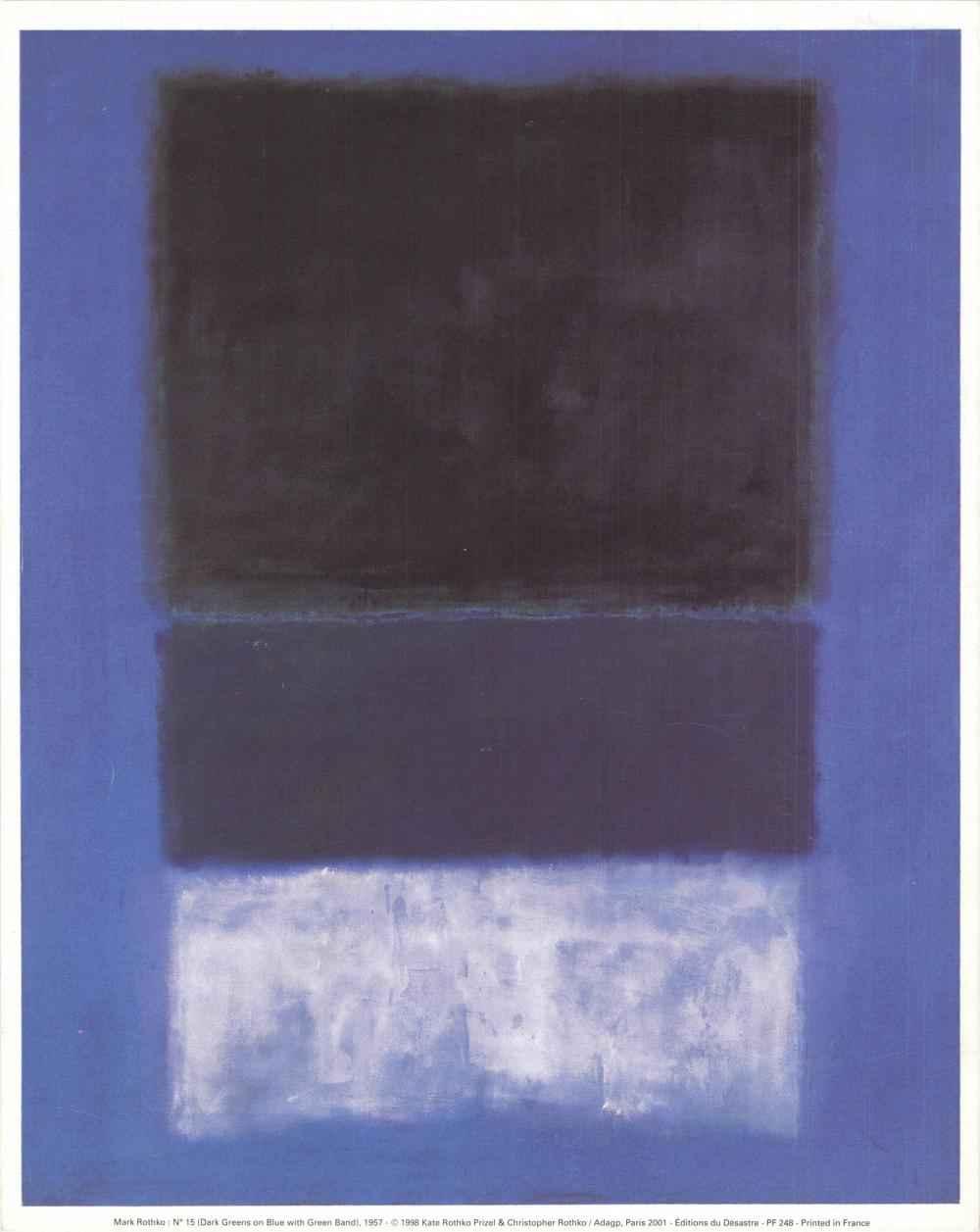 Untitled No. 15 (Dark... by  Mark Rothko - Masterpiece Online