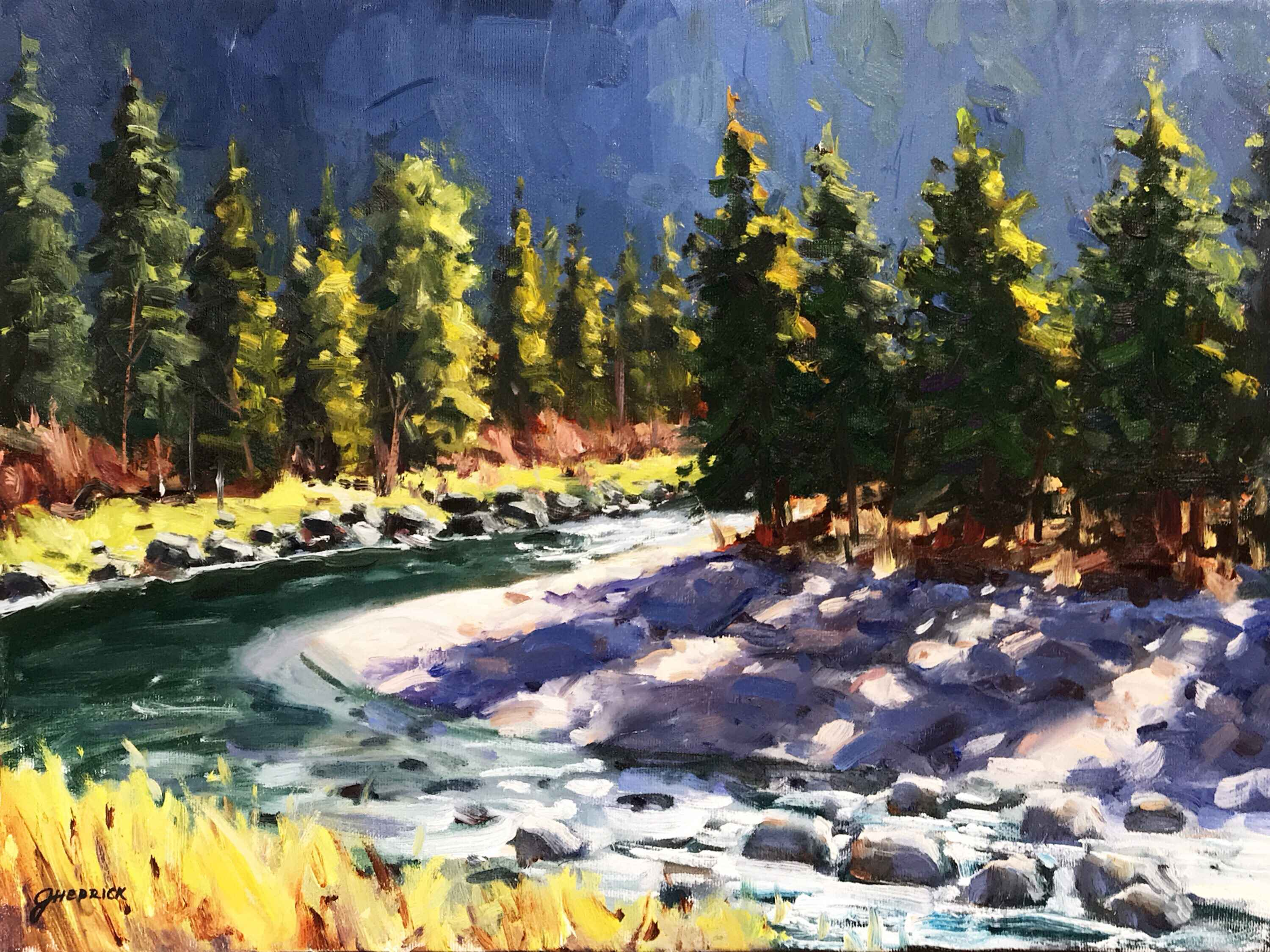 River Rush by  Jessica Hedrick - Masterpiece Online