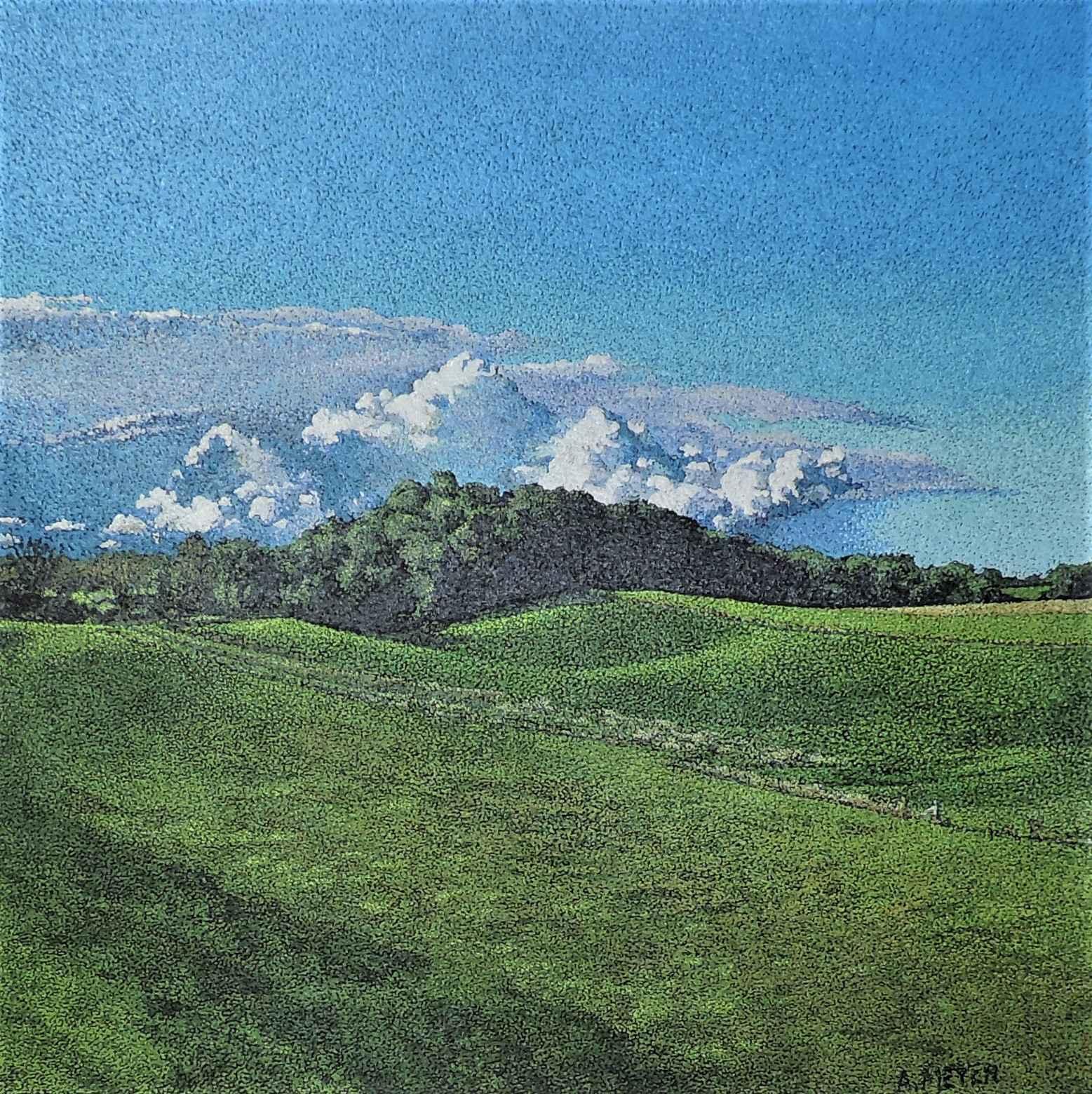 After a Summer Rain, ... by Ms. Ann Meyer - Masterpiece Online