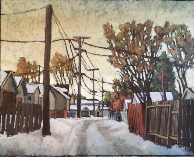 December Alley by  Kari Duke - Masterpiece Online