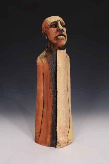 Man Waiting 1 by  Susan H. Wilson - Masterpiece Online