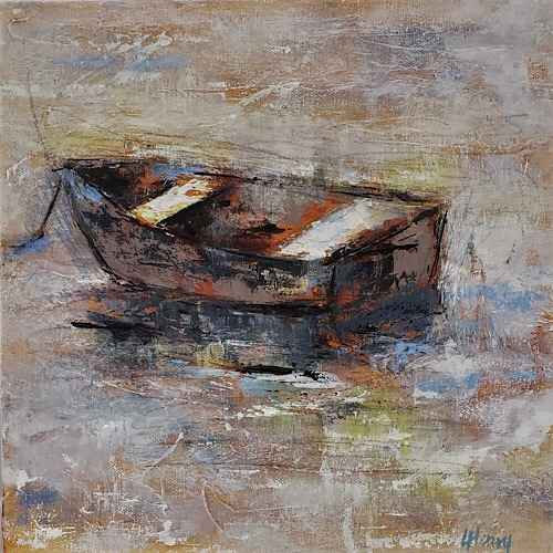 Rowboat 9 by  Laurie Henry - Masterpiece Online