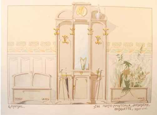 Art Nouveau Decorator... by  G. Raynal - Masterpiece Online