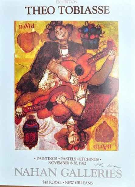 David Hadassah by  Theo Tobiasse - Masterpiece Online