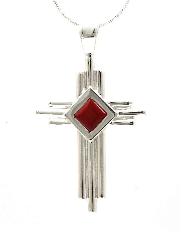 Zia Cross Pendant by  Ben Nighthorse - Masterpiece Online