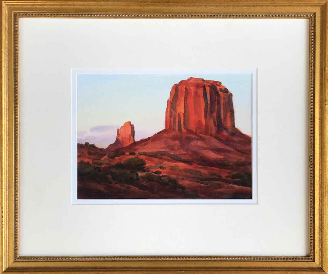 Sunset in the Valley by Mr. & Mrs. Gerald Fritzler - Masterpiece Online