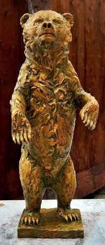 Bear Sculpture by  Tim Sproll - Masterpiece Online