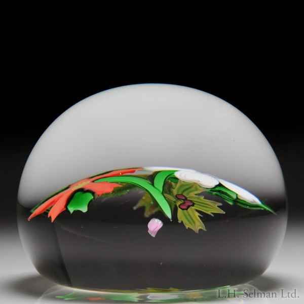 glass paperweight 1984
