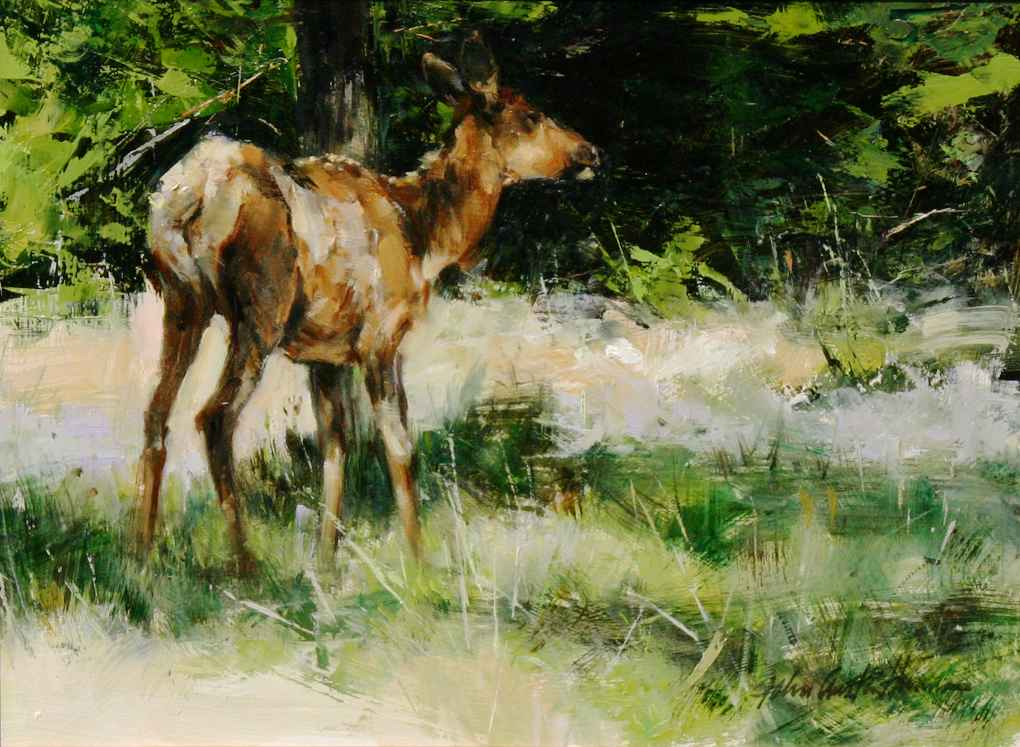 Young Cow by  John Austin Hanna - Masterpiece Online