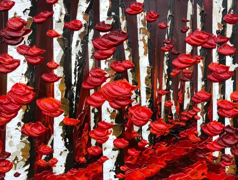 Crimson Imagination by  Everist Prokofiev - Masterpiece Online
