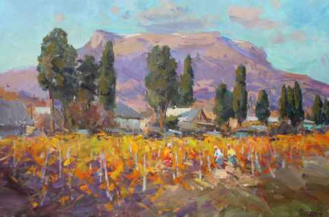 In the Vineyard by   Shabadei - Masterpiece Online