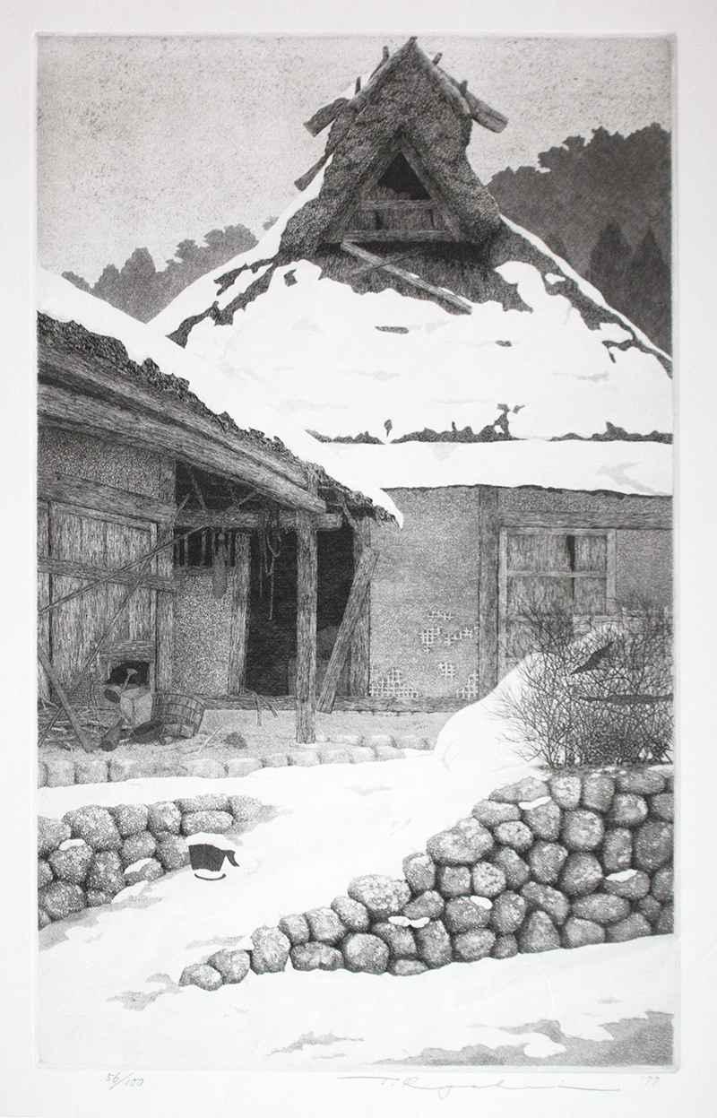 Lingering Snow by  Ryohei Tanaka - Masterpiece Online