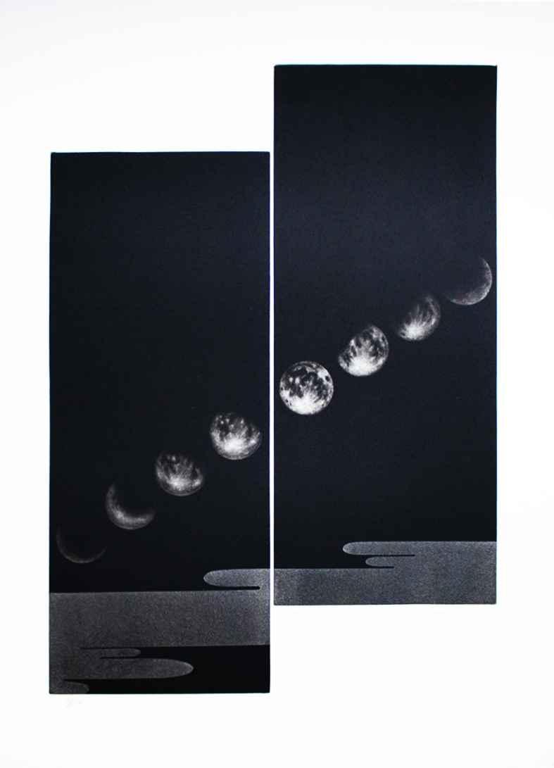 Moon No. 1 by  Katsunori Hamanishi - Masterpiece Online