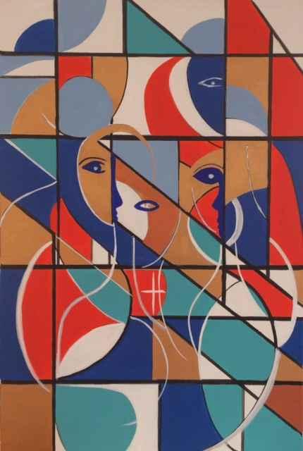 La Mujeres De Sagrada... by  Steve Lyons - Masterpiece Online